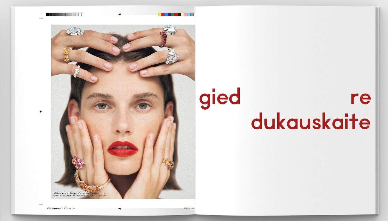 Fashion inspirace podle Giedre Dukauskaite