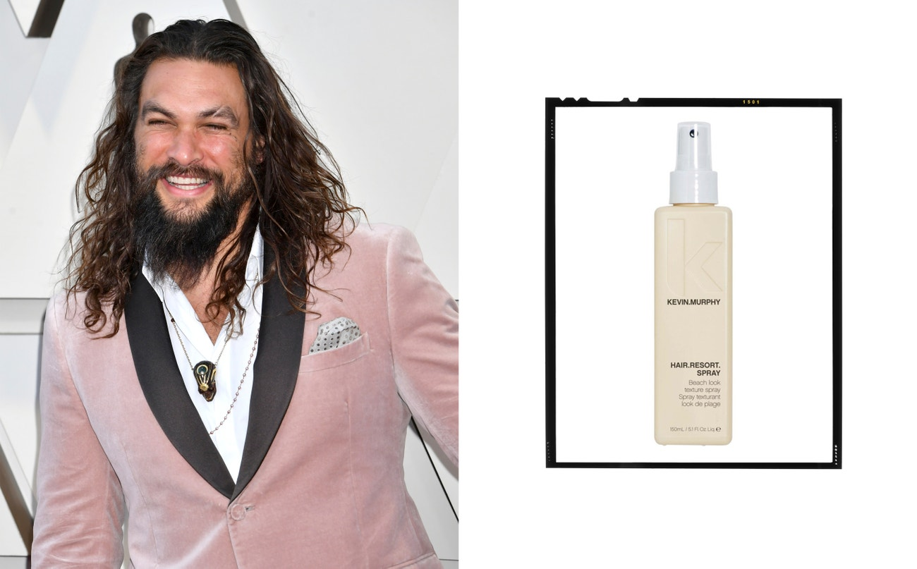 Jason Momoa.  Hair.Resort Spray, Kevin.Murphy, 710 Kč