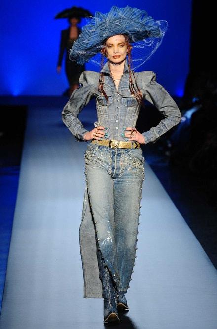 Jean-Paul Gaultier Haute Couture jaro - léto 2010
