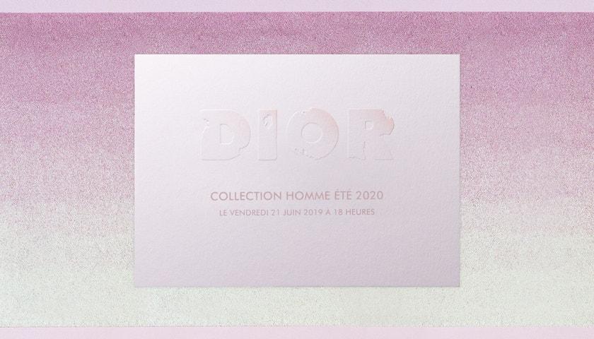 Živě z Paříže: Přehlídka Dior Men jaro – léto 2020