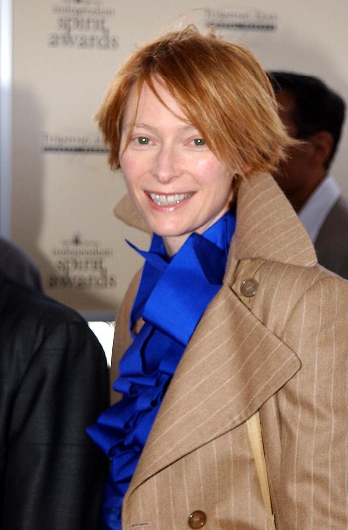 Tilda Swinton v roce 2002 Autor: Jeff Kravitz/FilmMagic