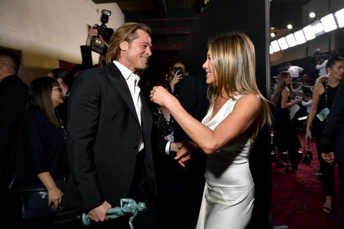 Brad Pitt a Jennifer Aniston na SAG Awards 2020  Autor: Emma McIntyre/Getty Images for Turner