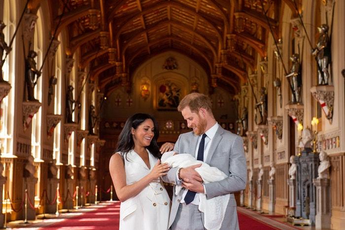 Vévoda a vévodkyně ze Sussexu a jejich syn Archie Autor: Getty Images