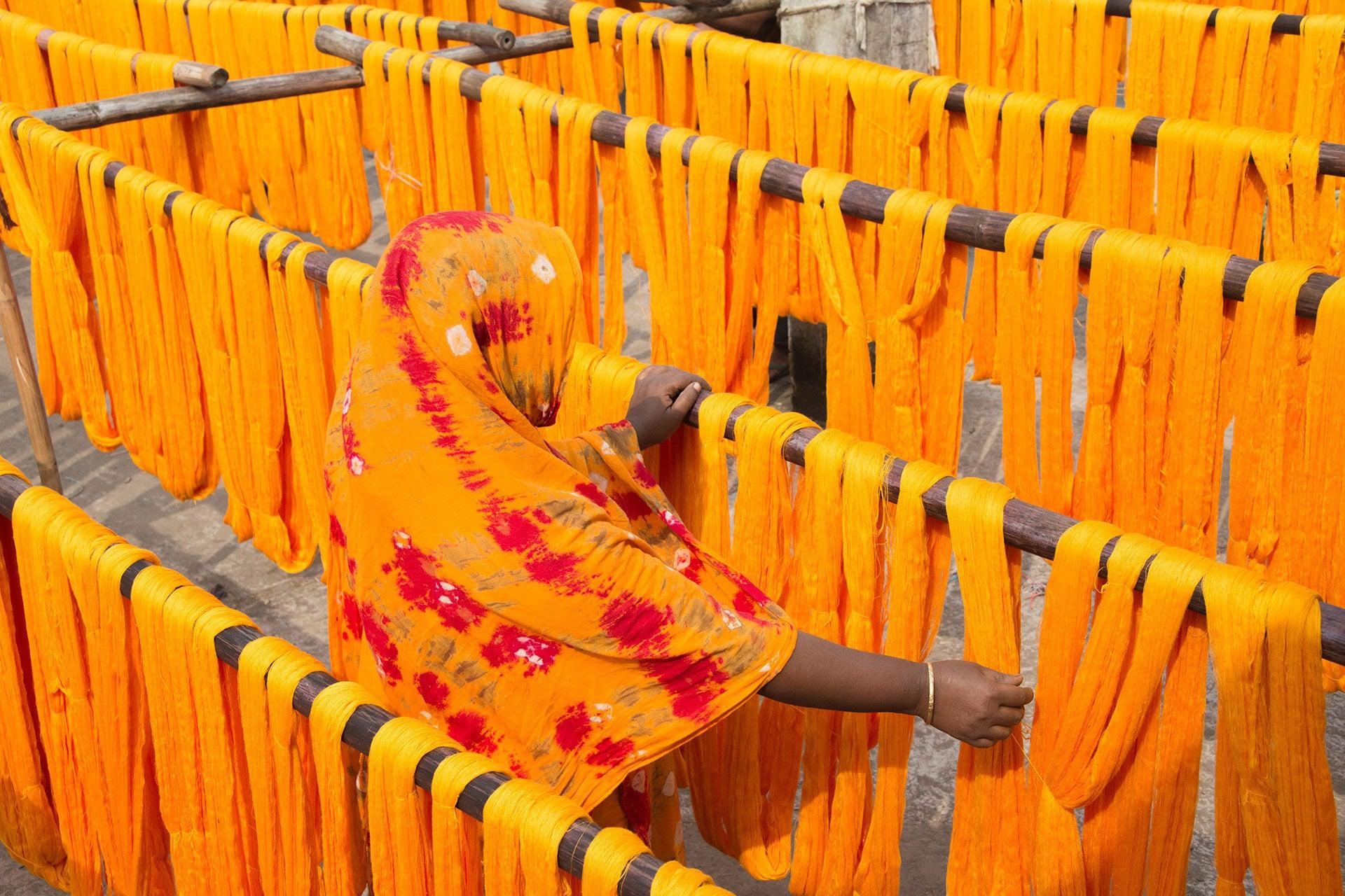 Barvicí dílny v Bangladéši Autor: Getty Images