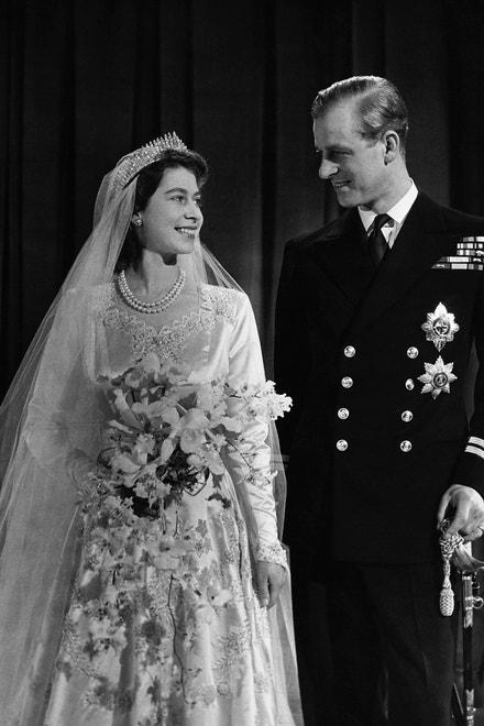 Korunní princezna Alžběta a princ Philip, 20. listopadu 1947