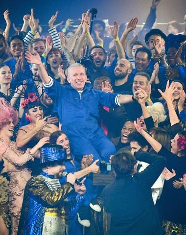 Gaultier se rozloučil hvězdnou show