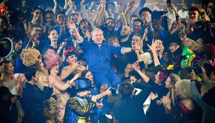 Gaultier se s haute couture rozloučil hvězdnou show