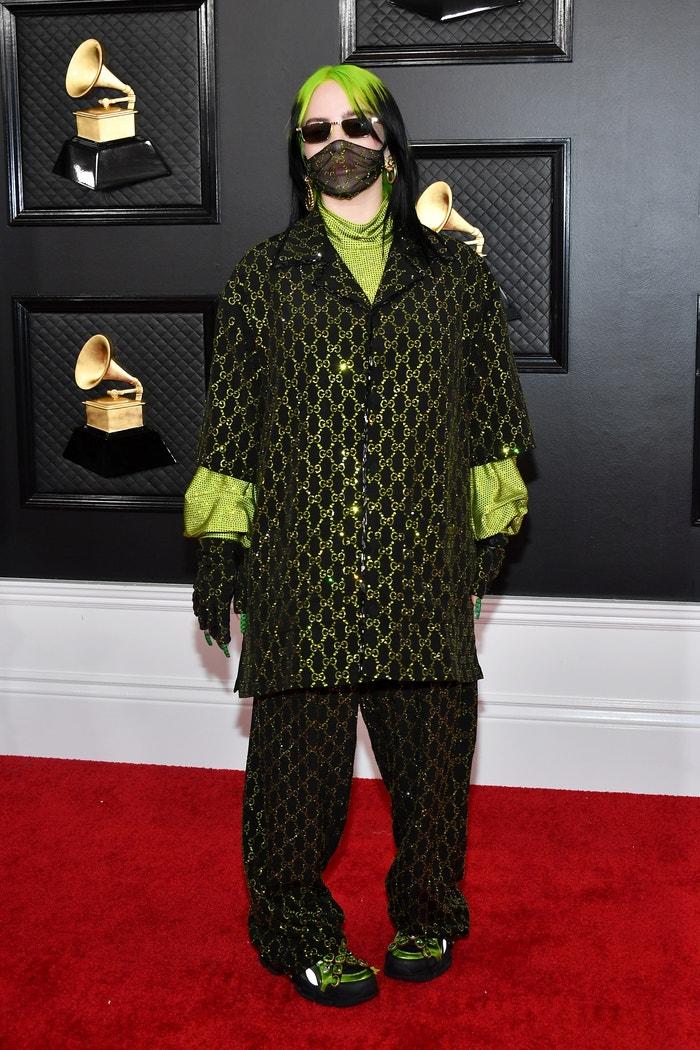 Billie Eilish v Gucci Autor: Amy Sussman/Getty Images