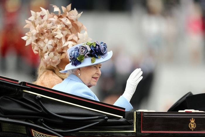 Královna Alžběta II. a Máxima Nizozemská  Autor: Bryn Lennon/Getty Images