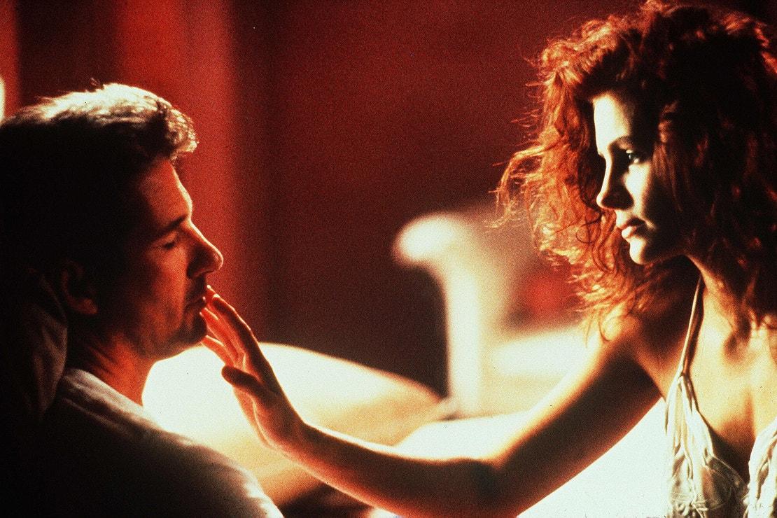 Julia Roberts a Richard Gere ve filmu Pretty Woman, 1990
