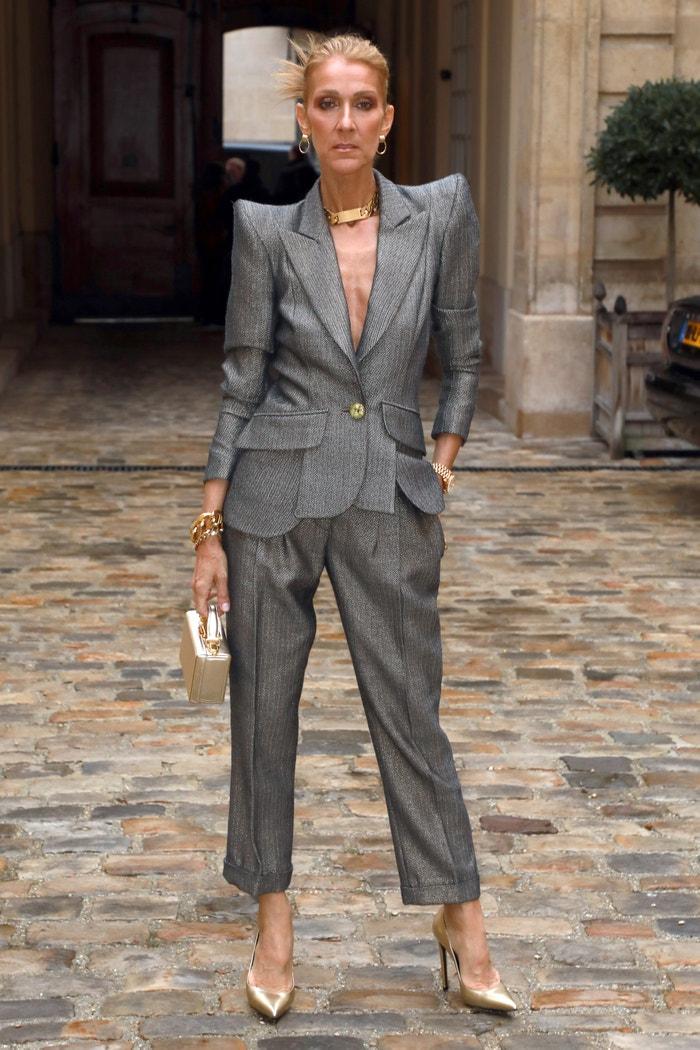 Céline Dion v modelu Ronald van der Kemp Autor: Pierre Suu (Getty Images)