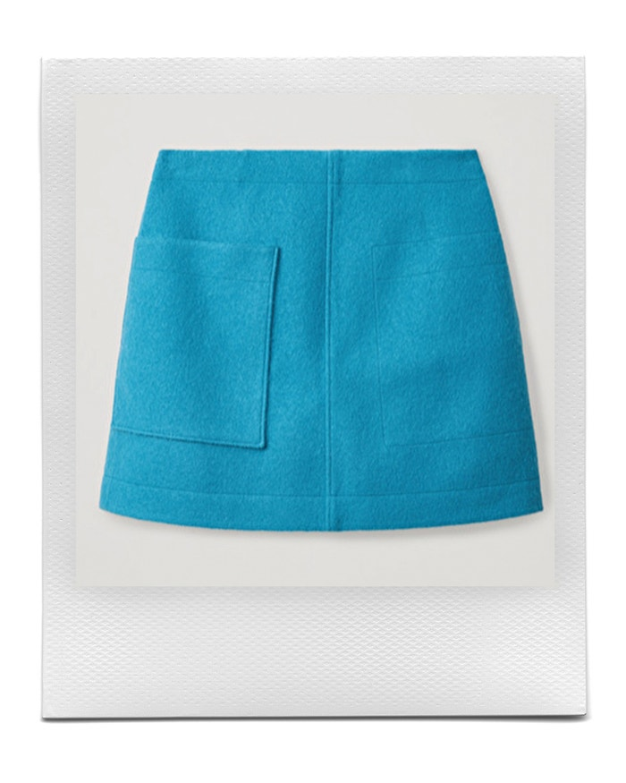 Wool mini skirt, COS, sold by COS, € 69