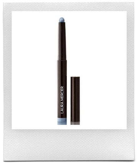 Krémové oční stíny v tužce Caviar Stick Eye Color v odstínu Blue Ciel, Laura Mercier, prodává Laura Mercier, $29