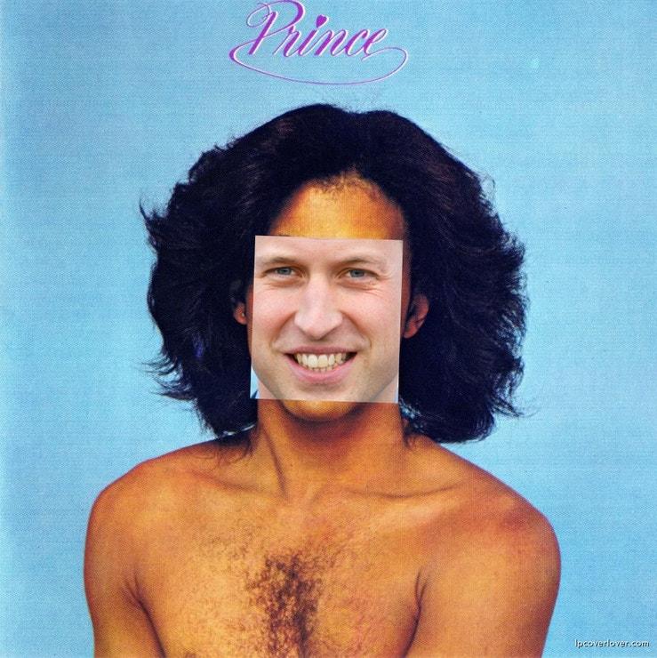"""""""Princ William se změnil. Princ William ztrácí vlasy… Jako já. Představuji si, že si nechá nastřelit pěknou kštici, jako měl Prince, můj oblíbený zpěvák."""""""