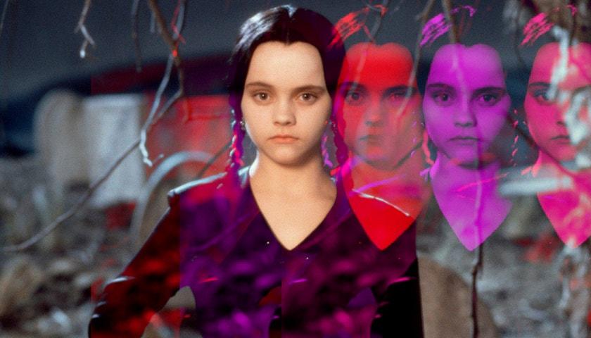 Beauty ikona Wednesday Addams