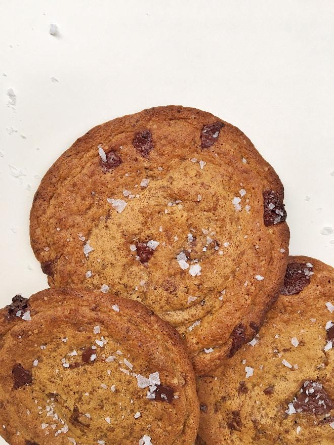 Cookies s mořskou solí