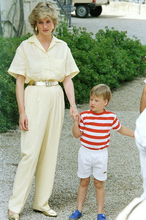 Princezna Diana na Mallorce, 1987