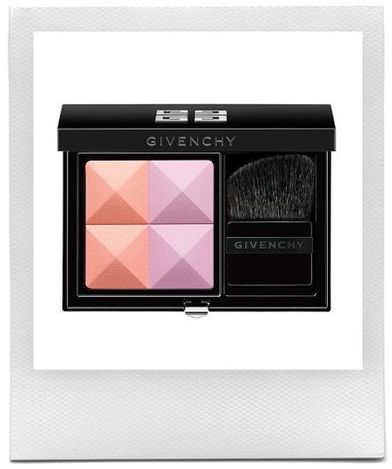 Kompaktní paletka rozjasňovače a tvářenky Prisme Blush Highlight & Structure Powder Blush Duo v odstínu 8 Tender, Givenchy, prodává Givenchy, $46