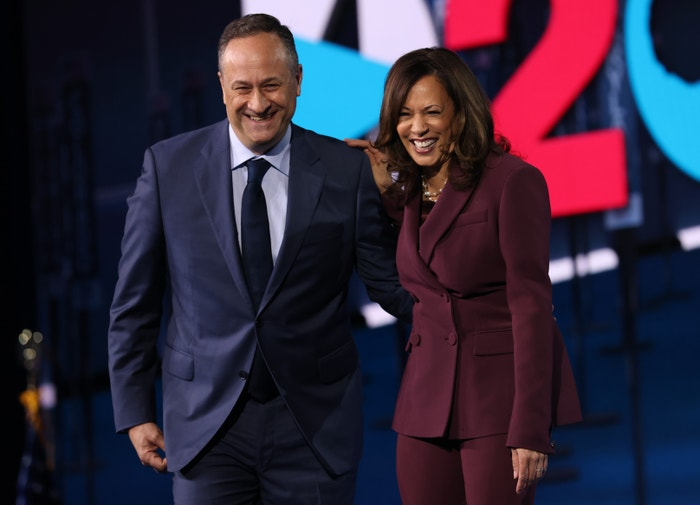 Kamala Harris s manželem