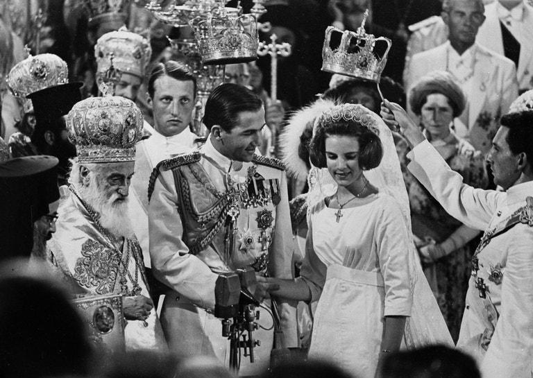 Král Konstantin II. Řecký a princezna Anne-Marie, 1964