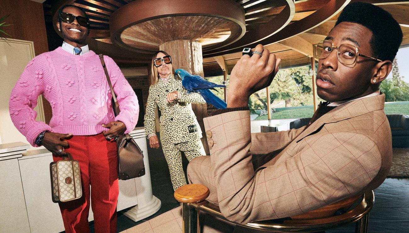 A$AP Rocky, Iggy Pop a Tyler, The Creator v nové kampani Gucci