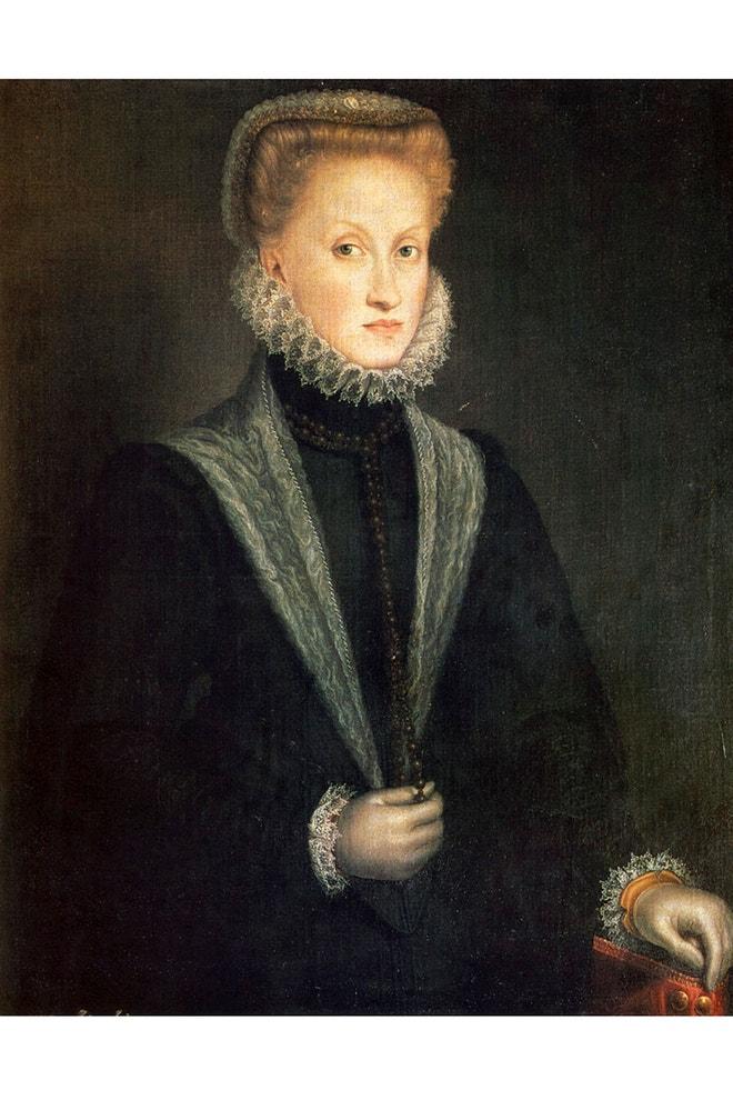 Sofonisba Anguissola: Anna of Austria, 1573
