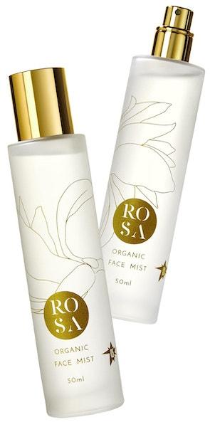 Pleťová mlha Organic Face Mist, Rosa Aromatherapy, prodává Fann Beauty Atelier, 899 Kč
