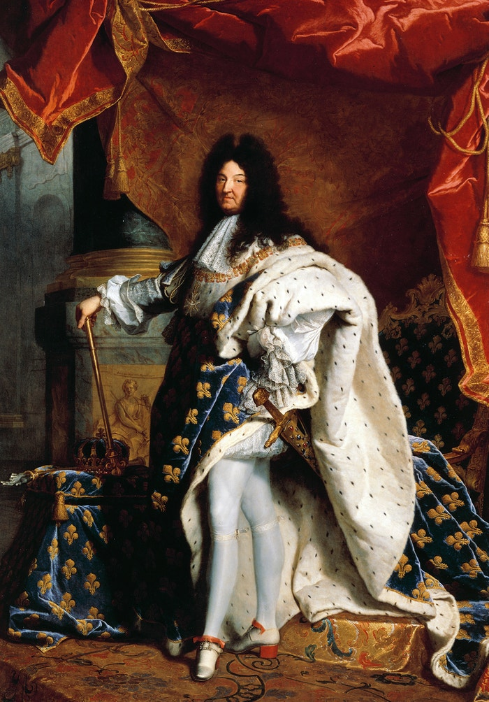 Portrét Ludvíka XIV. od Hyacintha Rigauda (1701)