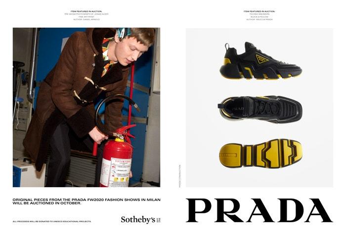 Prada Fall/Winter 2020 Autor: Courtesy of Prada / Daniel Arnold, Gigi Hadid, Phil Meech, Kevin Tachman