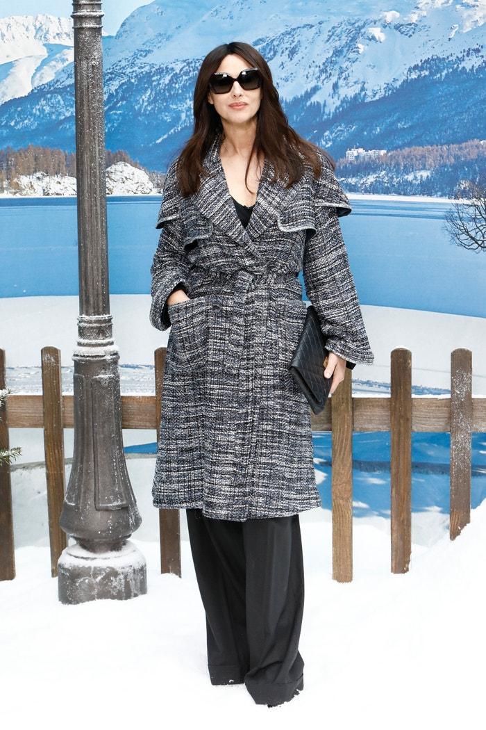 Monica Bellucci na přehlídce Chanel, Paris Fashion Week Womenswear Fall/Winter 2019/2020, 5. 3. 2019 Autor: Julien M. Hekimian/Getty Images for Chanel