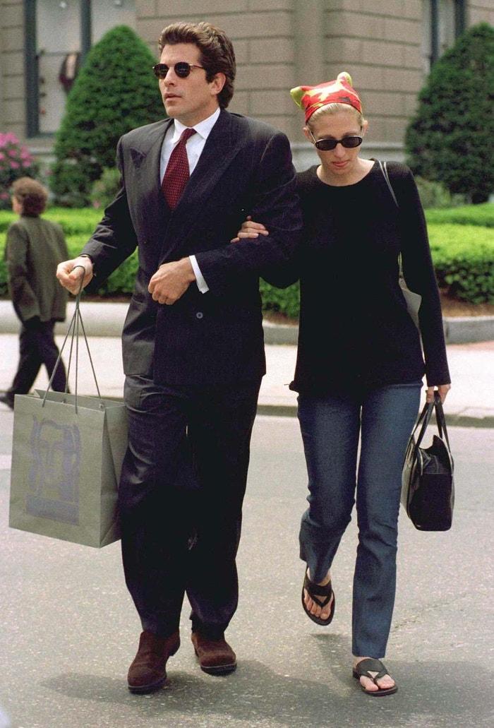 John Kennedy a Carolyn Bessette-Kennedy Autor: Rex Features