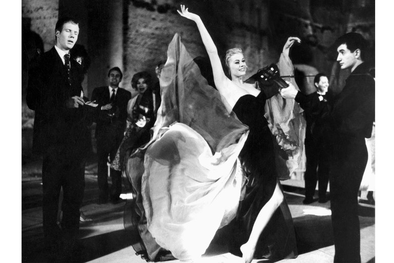 Anita Ekberg, Sladký život (La Dolce Vita/1960).