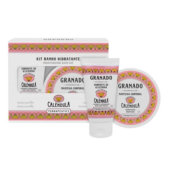 Sada péče o tělo s měsíčkem lékařským, Granado, prodává Sephora, 490 Kč