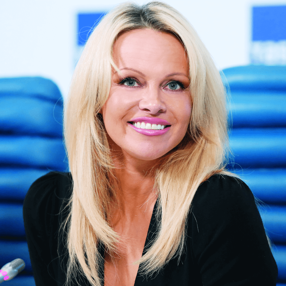 Pamela Anderson,  Actress and Activist