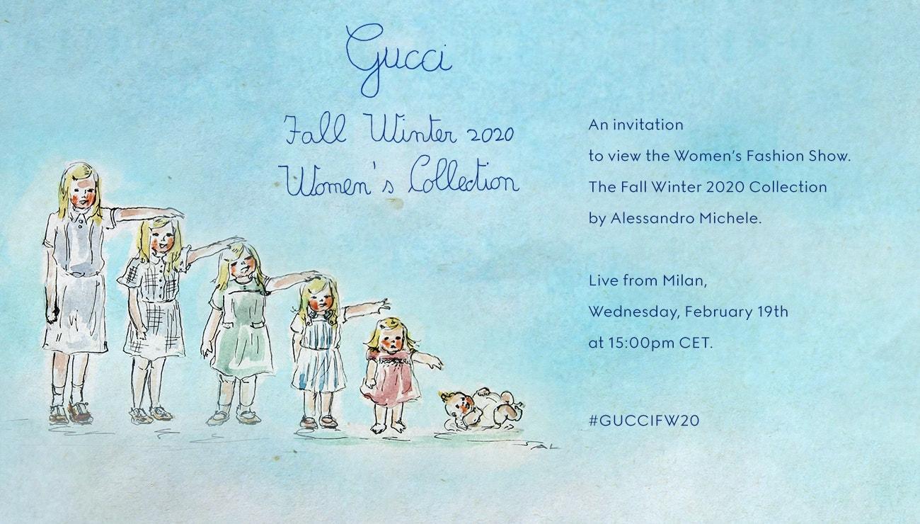 Živě z Milána: Gucci Women's Collection FW2020