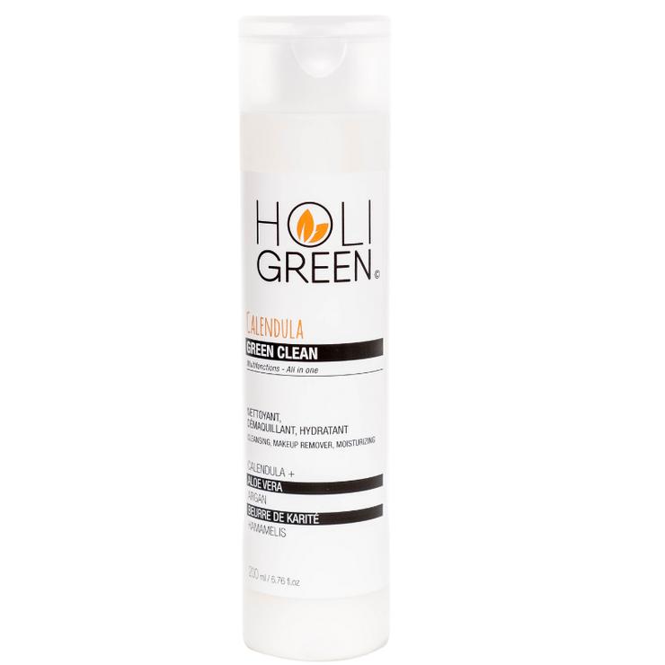Čisticí a odličovací mléko Green Clean s měsíčkem lékařským, HOLIGREEN SKINCARE, prodává Holigreen Skincare, 31 €