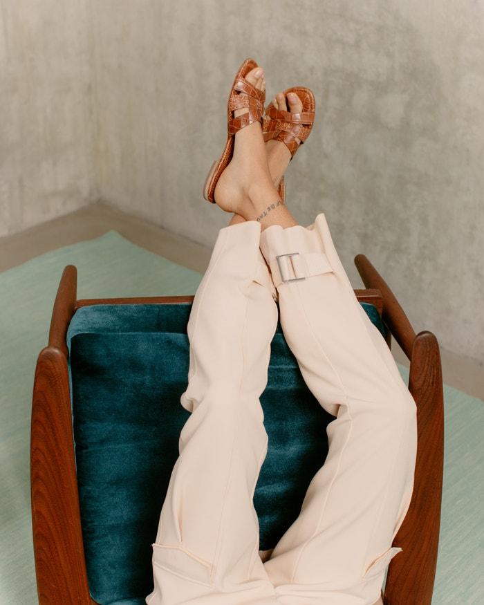 Kalhoty Holzweiler obsahující recyklovaný polyester