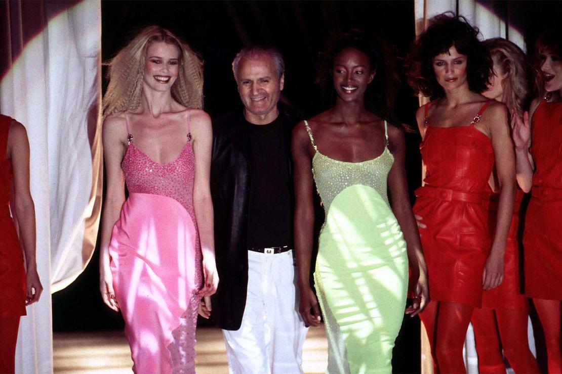 Přehlídka Versace podzim - zima 1996