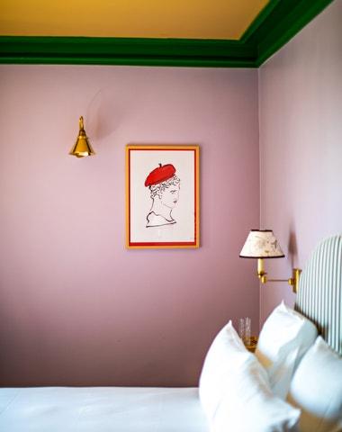 Hotel pro milovníky nespoutaně výstředních interiérů
