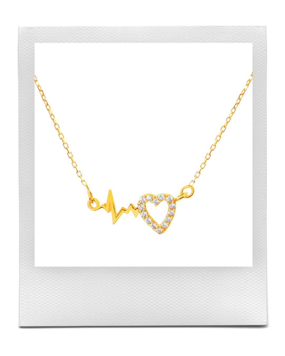 Zlatý náhrdelník se zirkony, Apart  prodává Apart, od 4 059 Kč