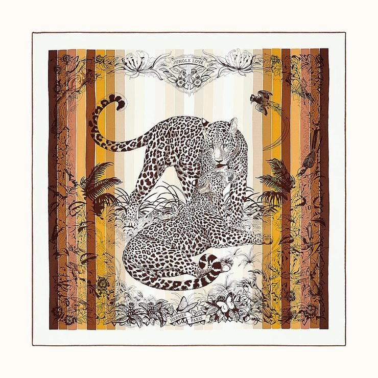 Jungle Love Rainbow šátek, Hermès, prodává Hermès, 9 900 Kč