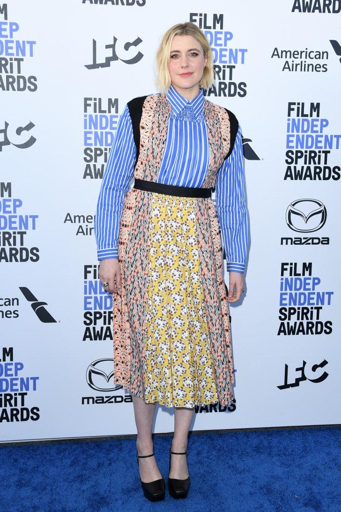 Greta Gerwig in Prada Autor: Getty Images
