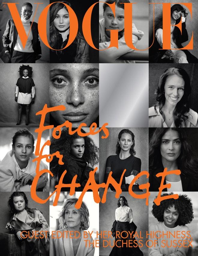 Cover britské Vogue, září 2019