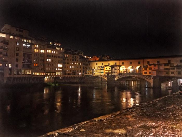 Ponte Vecchio, Florencie, 2019 Autor: Bára Hranoš/LUSH