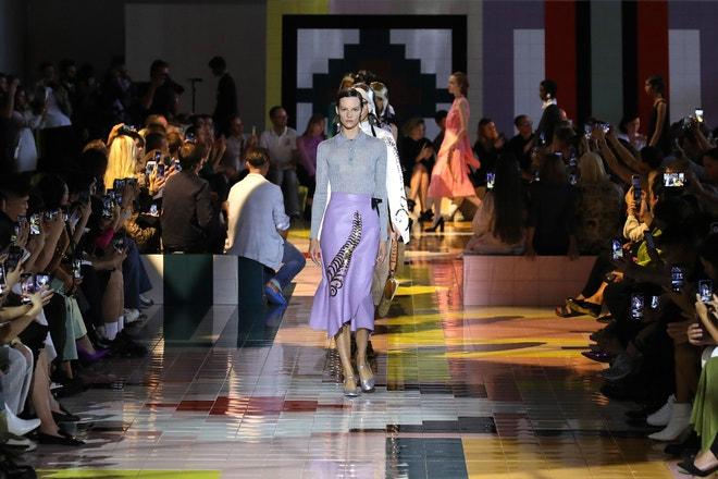 Prada SS20, Milan Fashion Week, září 2019, Milán