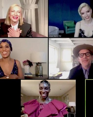 SAG Awards 2021: Přehlídka šatů a celebrit na virtuálním červeném koberci