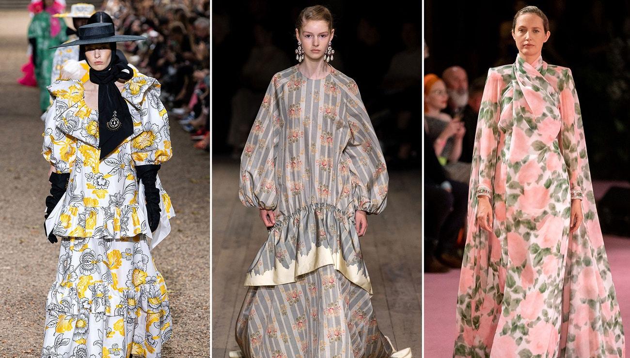 Trendy z londýnského fashion weeku