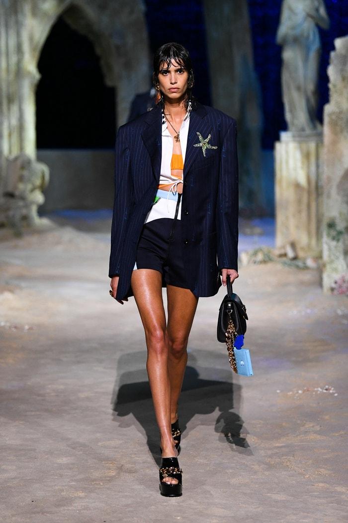 Versace Spring-Summer 2021 Autor: Courtesy of Versace