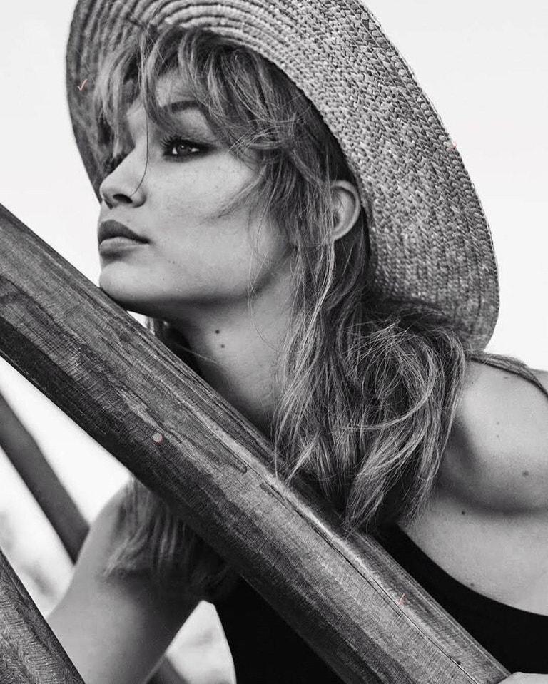 Gigi Hadid pro Vogue Mexico, květen 2019