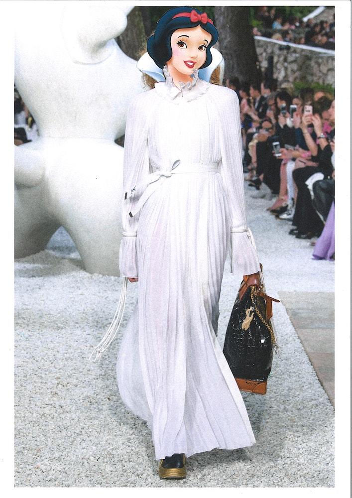 Sněhurka v resort kolekci Louis Vuitton